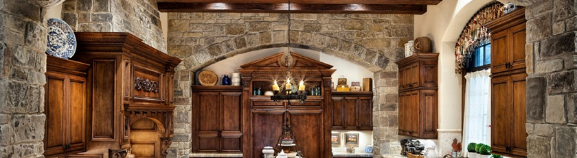 LOG HOME ARAXA kitchen
