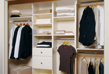 Advantage Closets White
